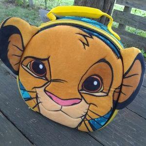 Disney lion king lunch bag.